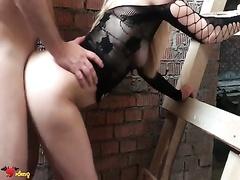 Экстрим секс на стройке