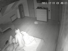 Скрытая камера в комнате отдыхающей пары