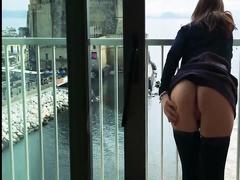 Анальный секс парочки на курорте