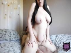 Секс с толстой любовницей