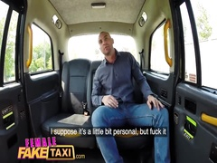 Причудливая дамочка таксист уселась жопой на болт заказчика