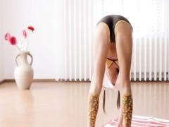 Ukrainian sport girl Lily Chey